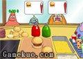 海綿寶寶賣漢堡