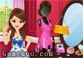 女生化妝舞會