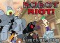 飛哥與小佛大戰機器人