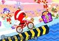 憤怒鳥自行車聖誕版