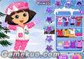 Dora冬季換裝