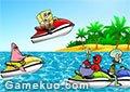 海綿寶寶摩艇賽車