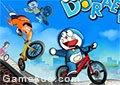 哆啦A夢自行車