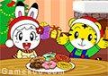 巧虎聖誕甜甜圈派對