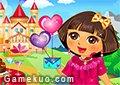 Dora情人節裝扮