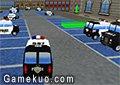 3D警局汽車停車