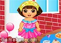 Dora佈置派對