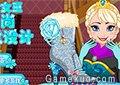 冰雪艾莎設計冬靴