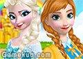 艾莎和安娜裝扮
