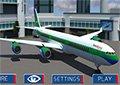 3D客機機場停靠