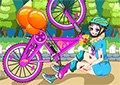 艾莎自行車事故