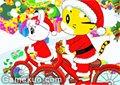 巧虎自行車聖誕版