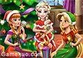 迪士尼公主聖誕派對
