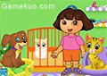 Dora照顧寵物