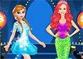 安娜和愛麗兒時裝秀