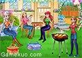 冰雪姐妹燒烤聚會